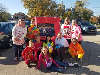 Huge Success at the Trunk or Treat