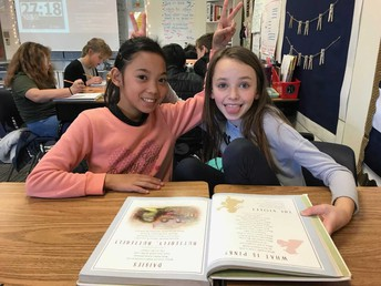 Partner Reading Poetry!
