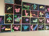 Layered Molas by 2nd Grade