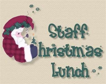 December Staff Appreciation Luncheon