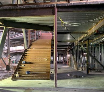 New SLMS Commons staircase