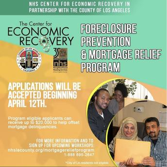 Mortgage Relief Program