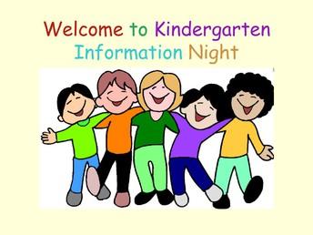 Preschool/TK/K Round UP Saturday and Kindergarten Registration Night