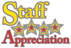 Staff Appreciation Week - May 6-10