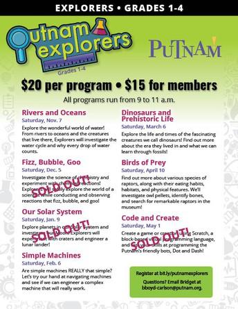 Putnam Explorers!