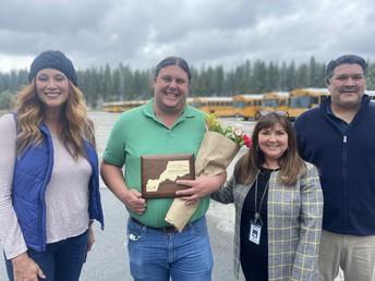 Derek Bosserman - Placer County's Classified Employee of the Year