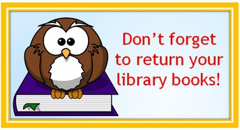 Reminder for Tuesday Library Classes: