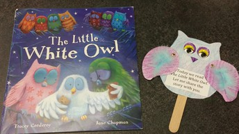 Kindergarten Owl Puppets