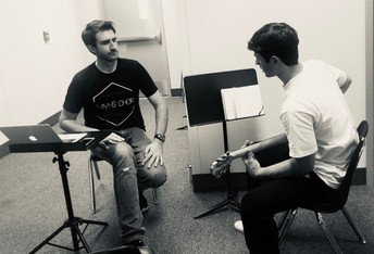 Personalized, one-on-one assessment in Guitar class!