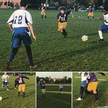 Boys' Soccer Gets Tough