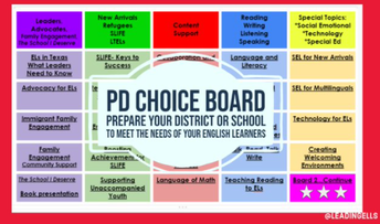PD Choice Board