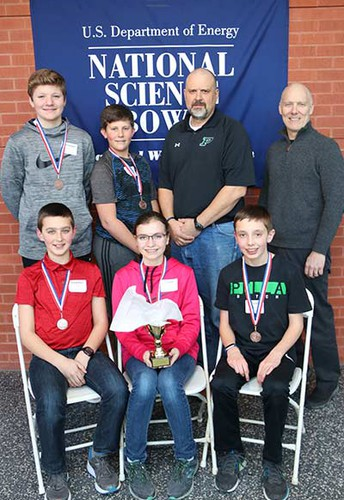 Students Place 3rd at the Science Bowl