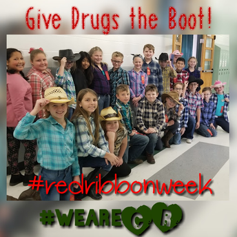 Mrs. Stannard's Class Gives Drugs the Boot