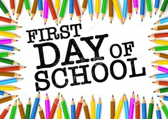 First Day of School-Monday, August 31st