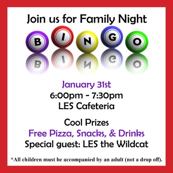 Mark your calendars for Bingo Night!