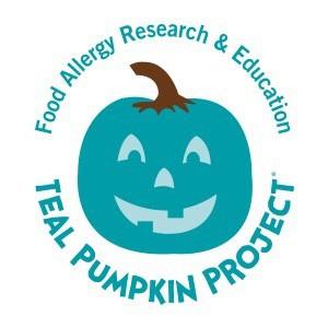 Teal Pumpkins for Halloween