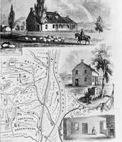 Plan of battlefield of Saratoga