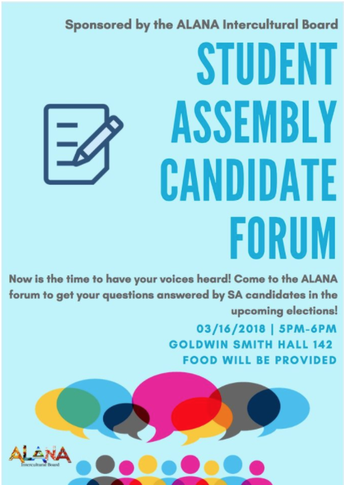 ALANA Candidate Forum