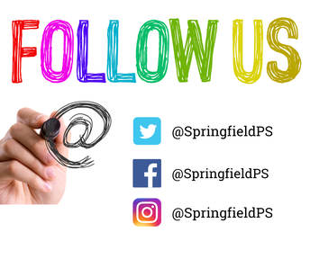 Follow the district's social media pages + bookmark our website