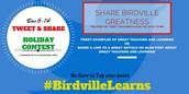 December Tweet & Share Winners!