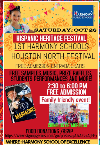 1st Hispanic Heritage Festival Houston-North!