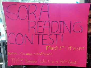 SORA Reading Contest has been extended throughout the end of COVID-19 Crisis