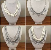Starlet Pearl Necklace