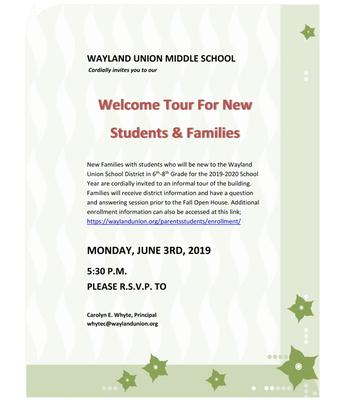 New Families Tour