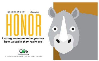Character Trait of the Month: Honor