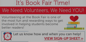 BTSN & Fall Book Fair Is Coming!