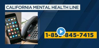 Recursos de Salud de California gratuito mentales: