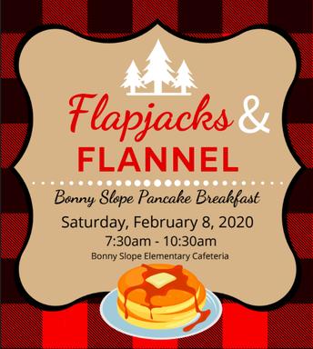 "BSE Pancake Breakfast, ""Flapjacks & Flannel,"" Scheduled for Saturday, 2/8"