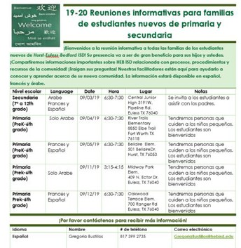 More Information in Spanish