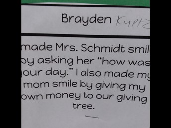 Keeping the teacher happy too.