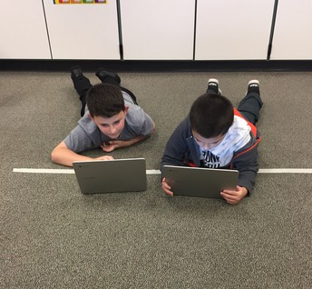Tech Teamwork in Room 206