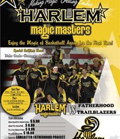 The Harlem Magic Masters visit Rucker!