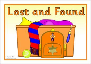 Lost & Found Reminder