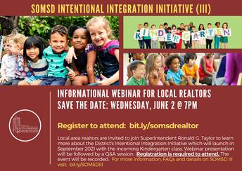 SOMSD III:  Informational Webinar for Local Realtors, June 2