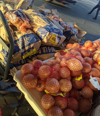 Onions and Potatoes