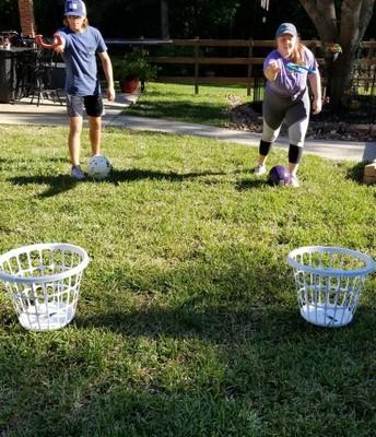 Basket Throw