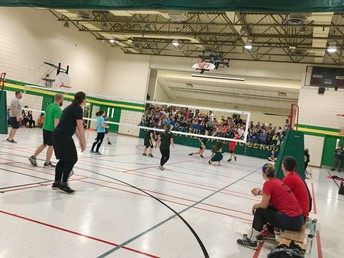 Staff vs Students Volleyball Match