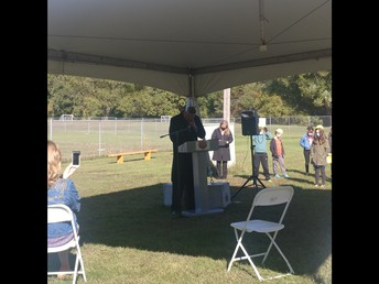 Mr. Hunter Speaks at the Ground Breaking Ceremony!