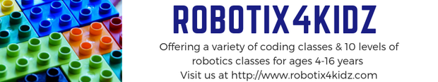 Click here to learn more about Robotix4Kidz