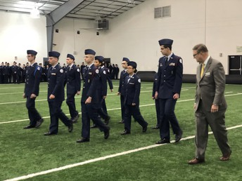 SCHS AFJROTC Exceeds Expectations