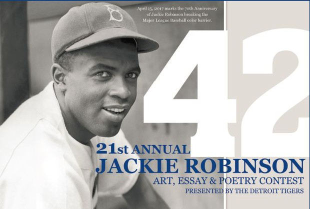 Jackie robinson essay poetry contest
