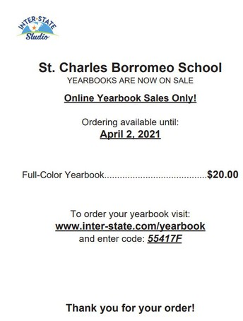 Order your year books now!