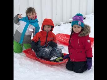 Outdoor adventures in Kindergarten!