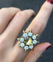 Eva Cocktail Ring - $20