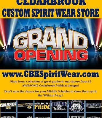 Cedarbrook Custom Spirit Wear Store