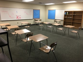 1 of 2 classrooms